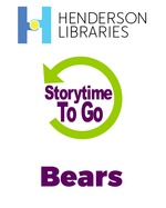Storytime To Go: Bears