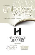 Unlocked Voices: 7th Annual Teen Writing Contest, 2016