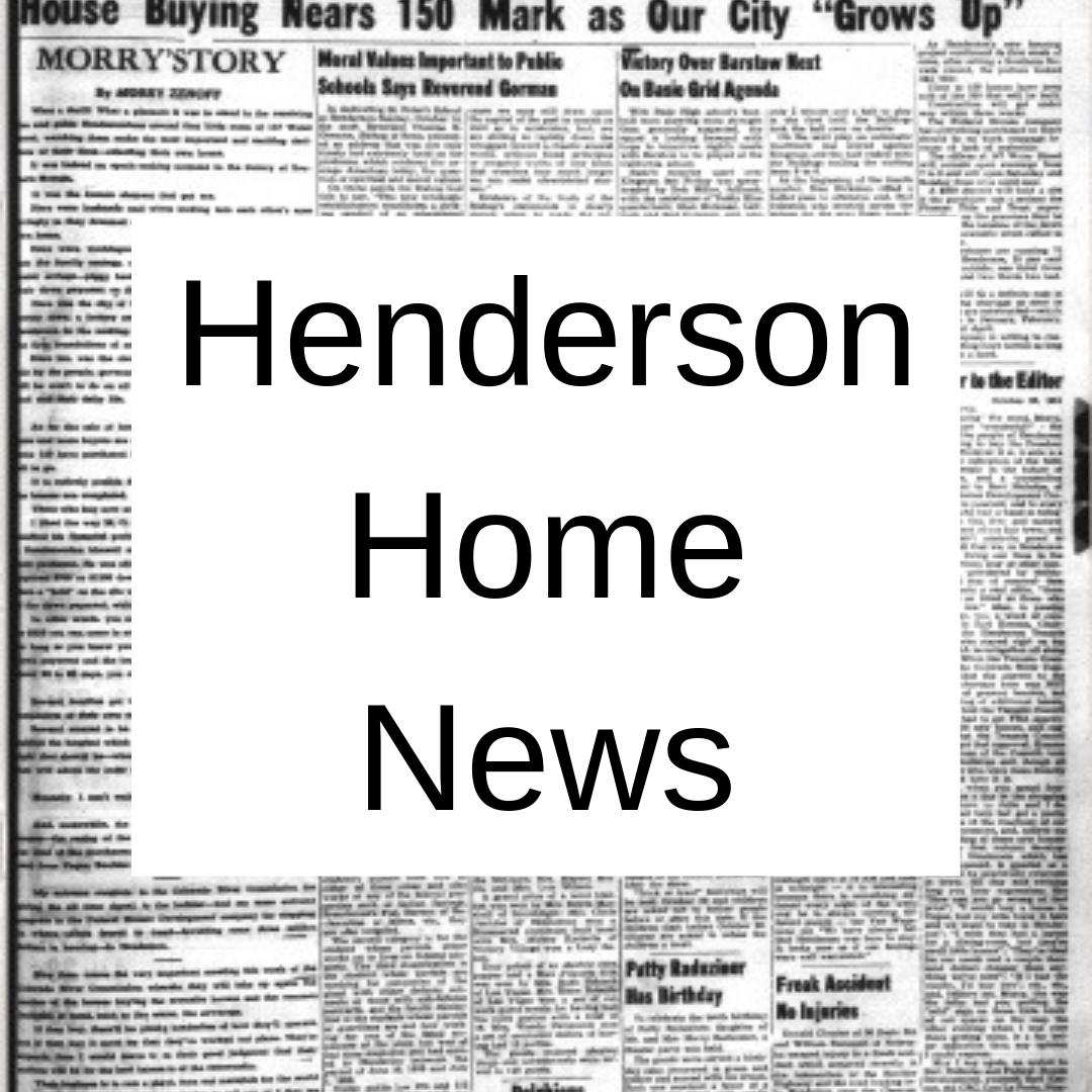 Henderson Home News