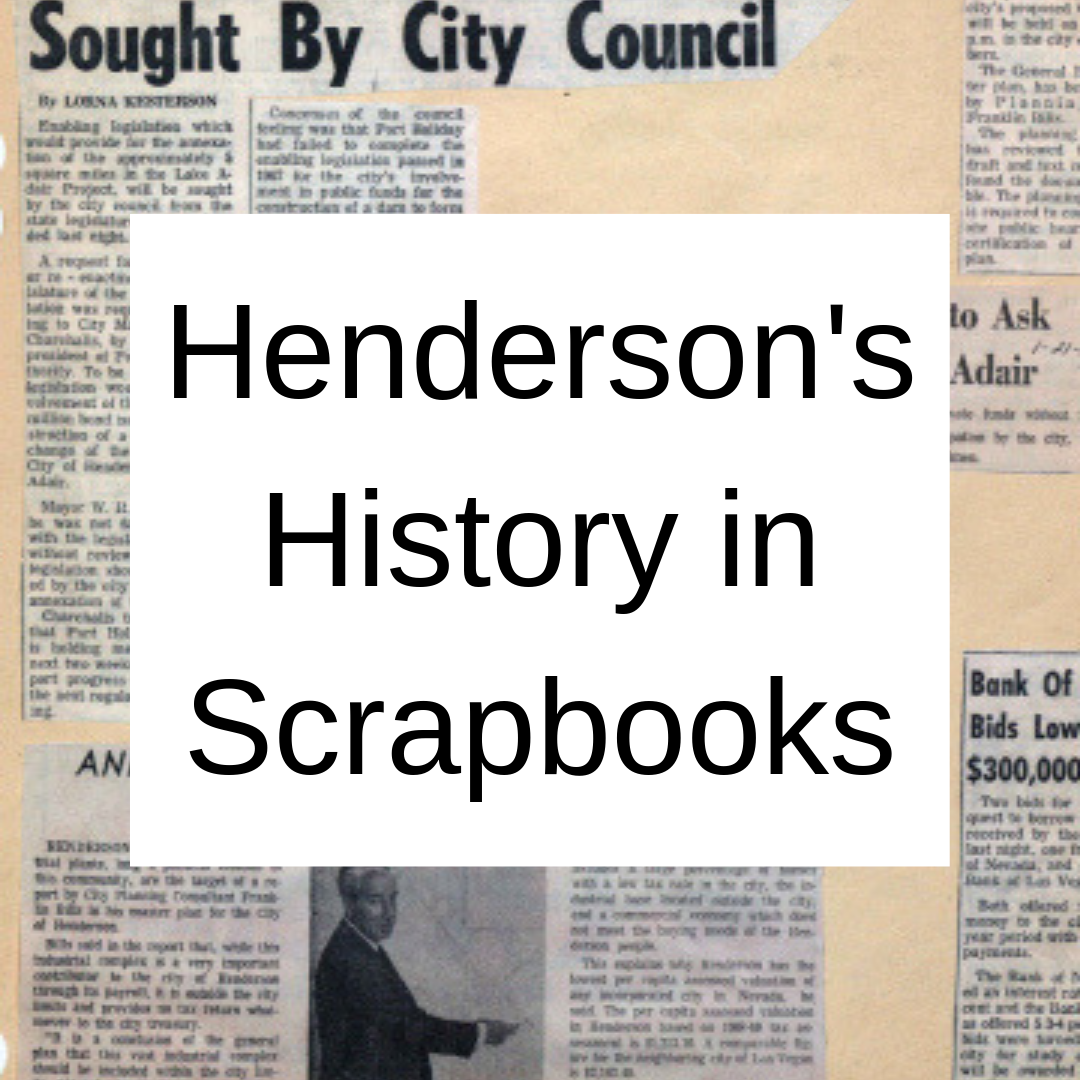Henderson's History in Scrapbooks
