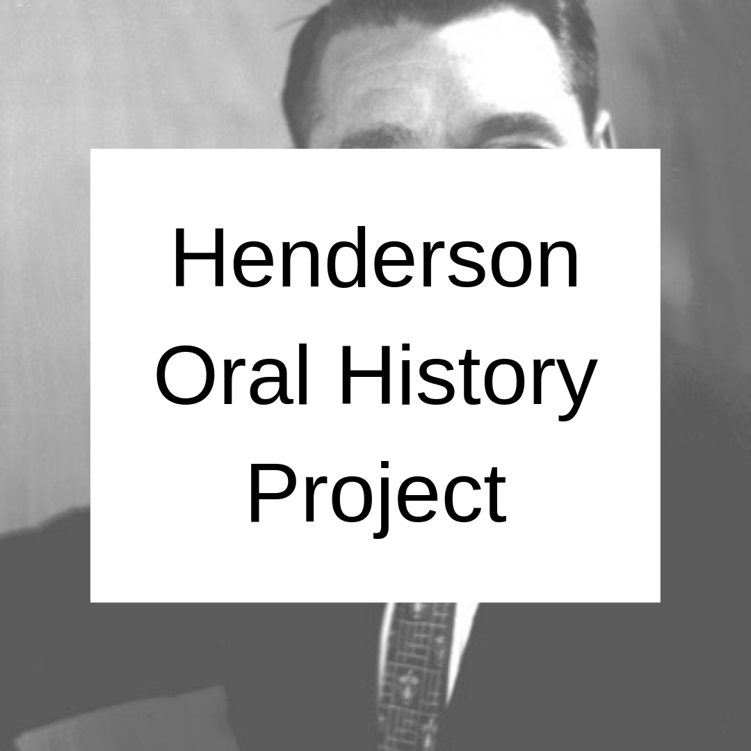 Henderson Oral History Project