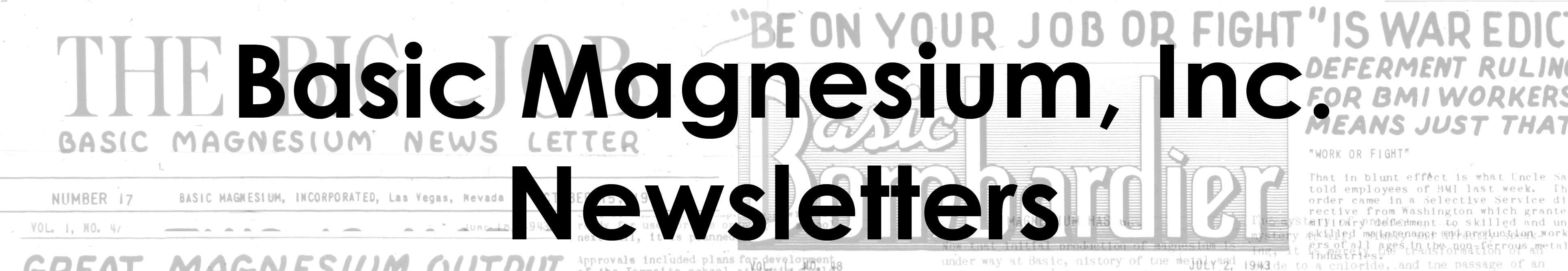 BMI Newsletters
